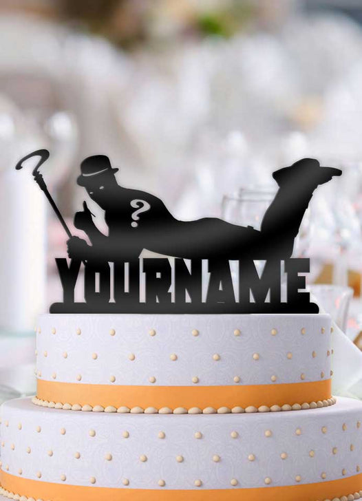 Personalized Riddler Cool Birthday Cake Topper