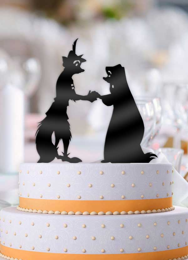 Robin Hood and Maid Marian Cake Topper - Bee3dgifts