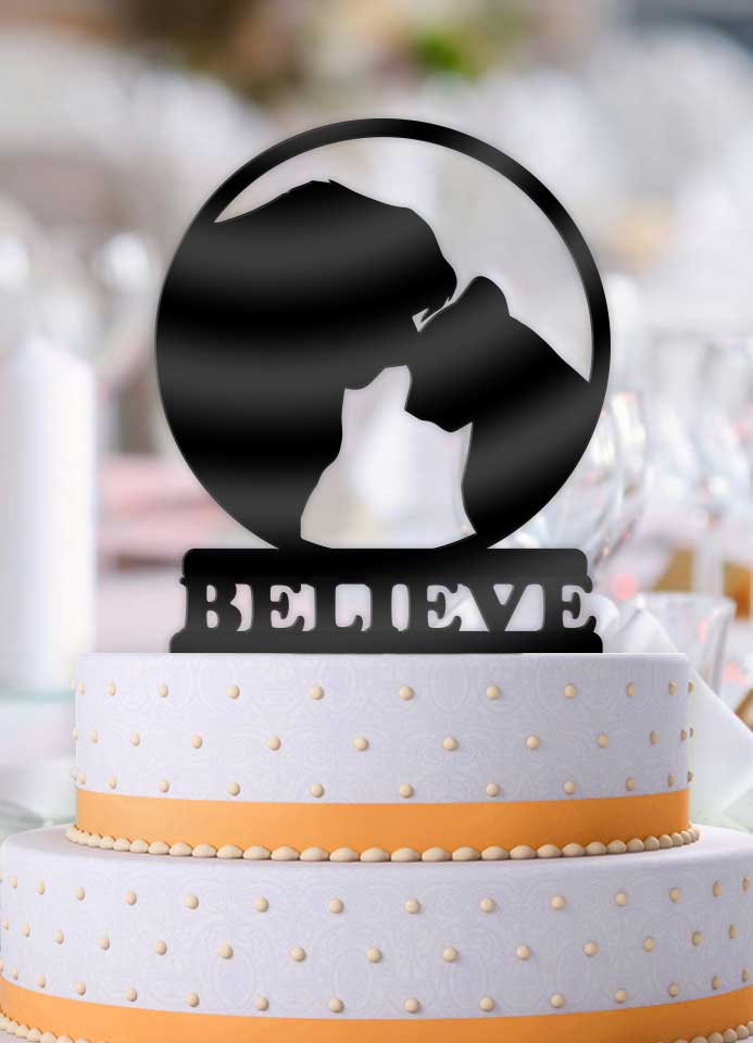 Disney Lion King Simba and Nala Believe Wedding Cake Topper - Bee3dgifts