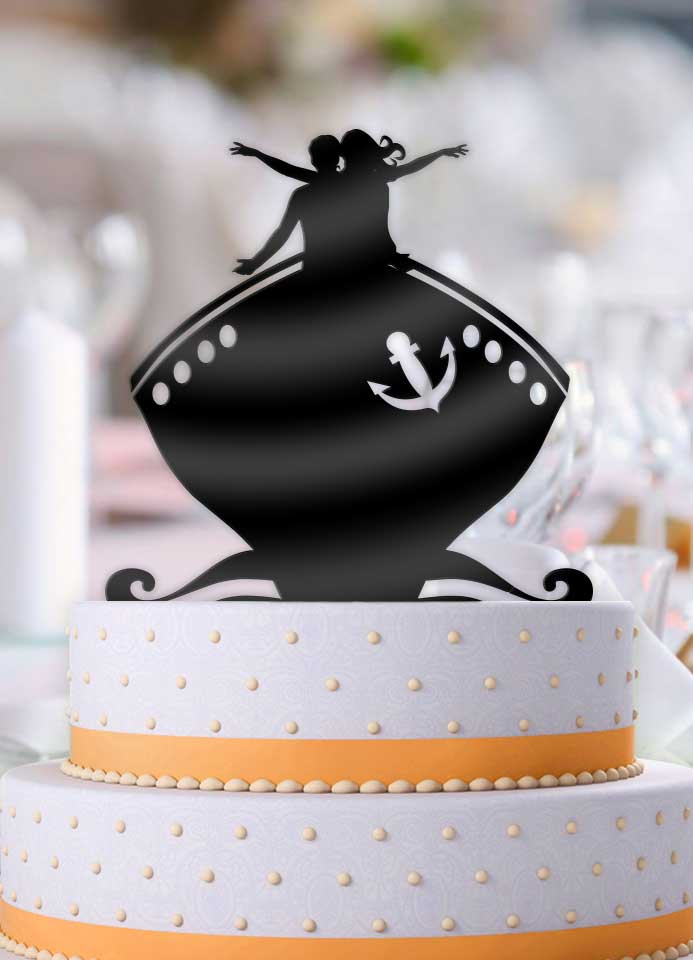 Titanic Wedding Cake Topper - Bee3dgifts