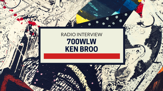 Radio Interview: 700WLW with Ken Broo