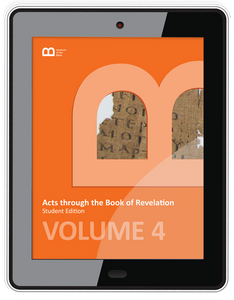 Bible Curriculum - Interactive E-Textbook Volume 4 - Acts through the Book of Revelation
