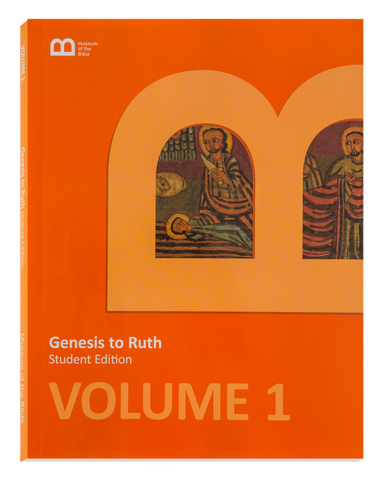 Bible Curriculum - Student Edition Textbook - Volume 1 - Genesis to Ruth
