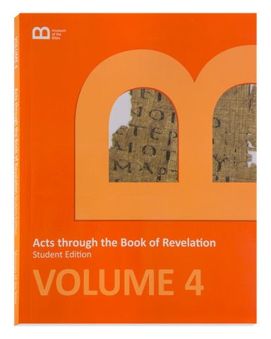 Bible Curriculum - Student Edition Textbook - Volume 4 - Acts through the Book of Revelation