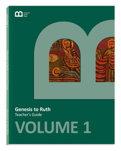 Bible Curriculum - Teacher's Guide Textbook - Volume 1 - Genesis to Ruth