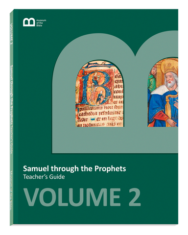 Bible Curriculum - Teacher's Guide Textbook - Volume 2 - Samuel through the Prophets
