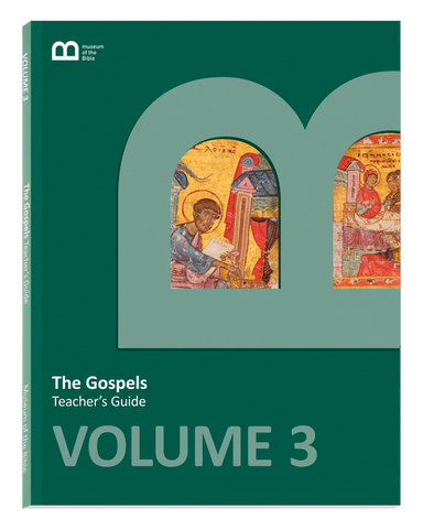 Bible Curriculum - Teacher's Guide Textbook - Volume 3 - The Gospels