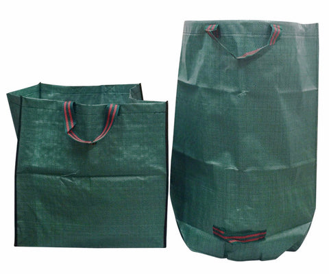 Go-GreenGardening Bag Bundle -1 Medium Lawn,Garden & Leaf Bag and 1 Cube Garden Multipurpose Bag
