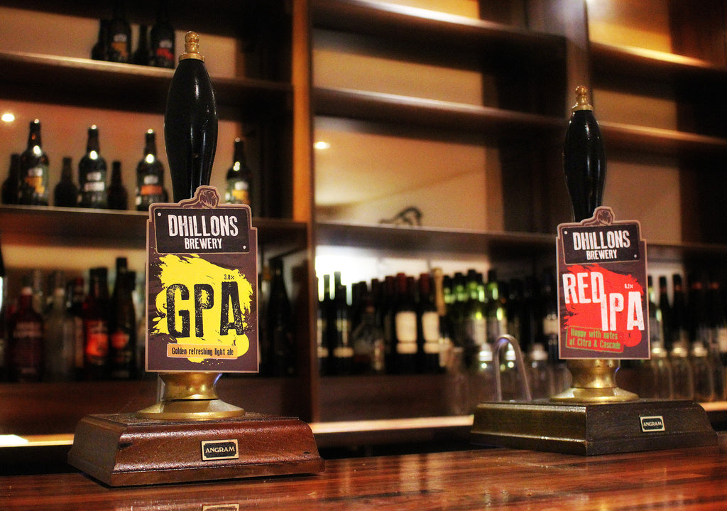 Seven Fantastic Tasting Beers from Dhillons Brewery in Coventry