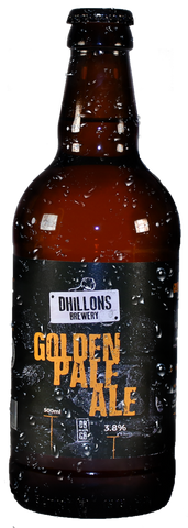 craft beer of Dhillons Golden Pale Ale (GPA) - Case of 12 Bottles
