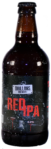 craft beer of Dhillons Red IPA - Case of 12 Bottles