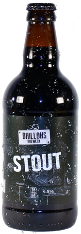 craft beer of Dhillons Stout - Case of 12 Bottles