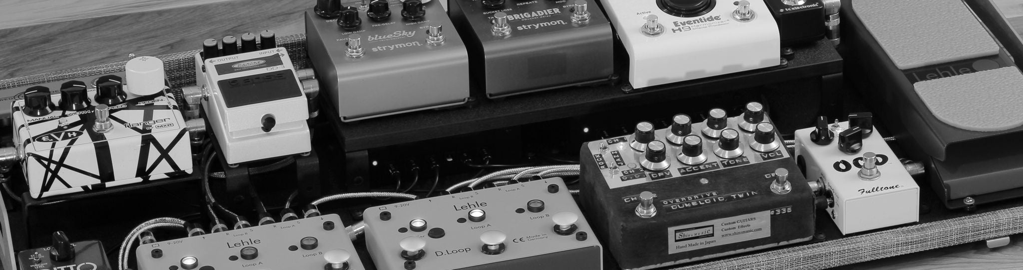 Custom pedalboard recap: Scaling down board size