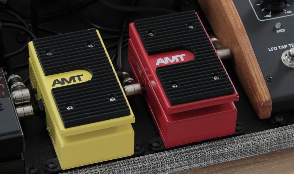 AMT volume and expression pedals