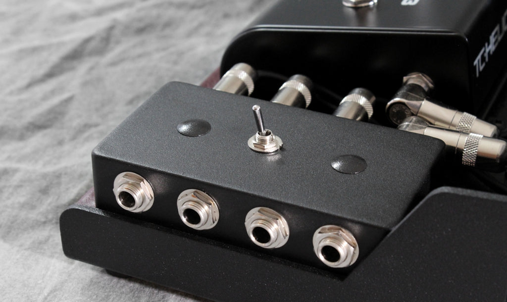 Custom Patchbay with Acoustic Electric Selecting Switch