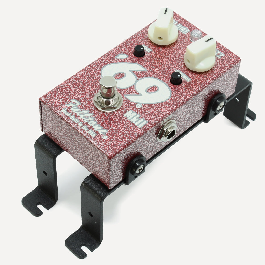 Fulltone 69 Fuzz mounted on Helweg Design risers