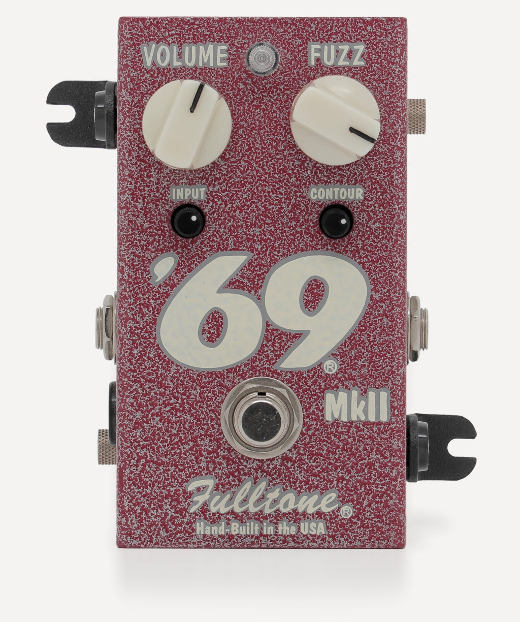 Fulltone 69 Fuzz with pedal mounting brackets