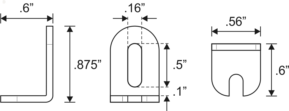 Helweg Design Type-L Bracket Specifications