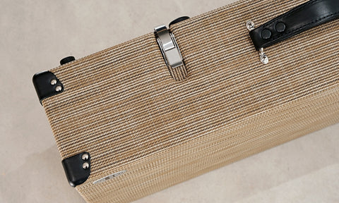 vintage tweed signature case for openwing pedalboard