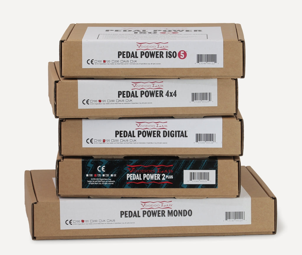 How Pedal Power units stack up