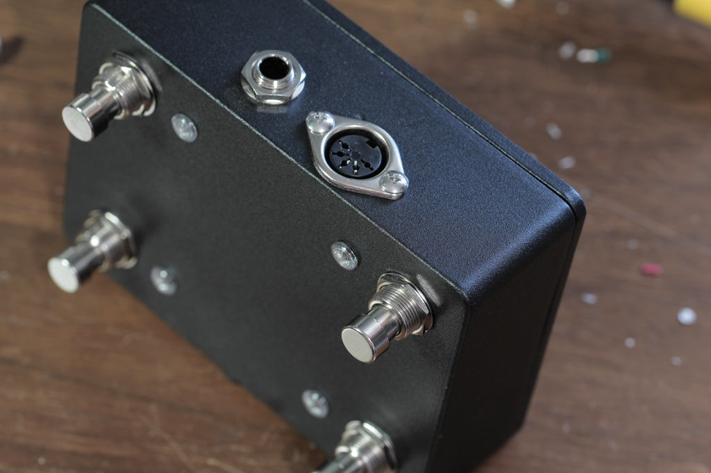 Rehoused amp control and favorite switches