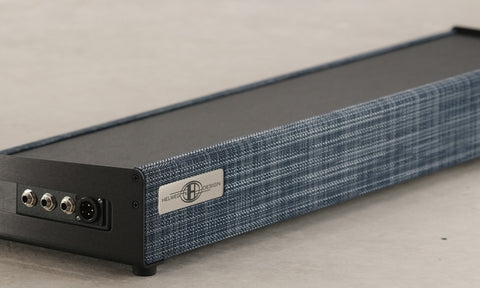 OpenWing pedalboard in Silver Blue colorway