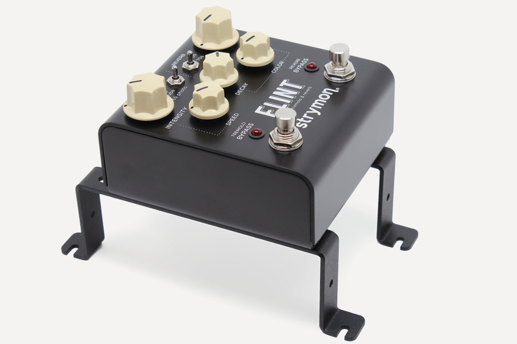 Strymon Flint on Helweg pedal risers