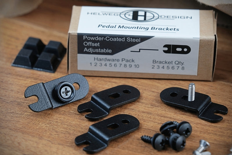 Offset Pedal Mounting Brackets