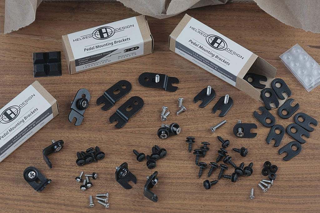 Pedal Mounting Bracket Starter Kit