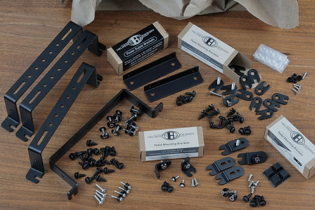 Pedal Mounting Bracket & Riser Starter Kit