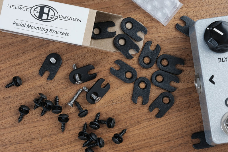Helweg Design Type-H Countersunk Pedal Mounting Brackets