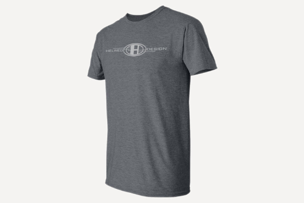 Helweg Design Logo Shirt_Heather Grey