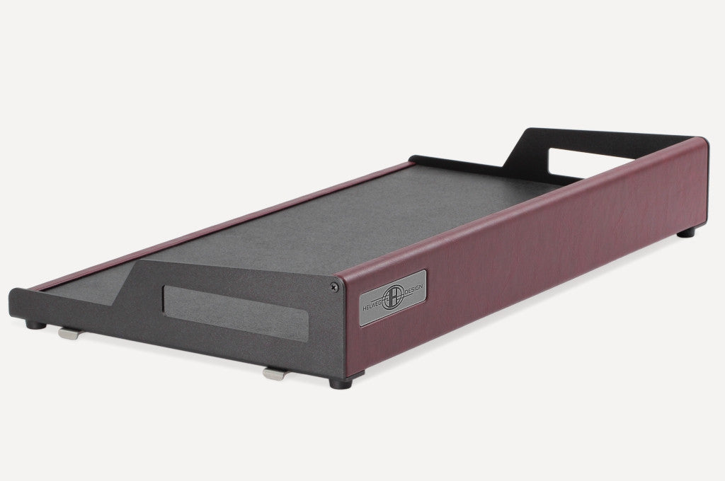 Helweg Design OpenWing 13 Pedalboard in Wine/Black