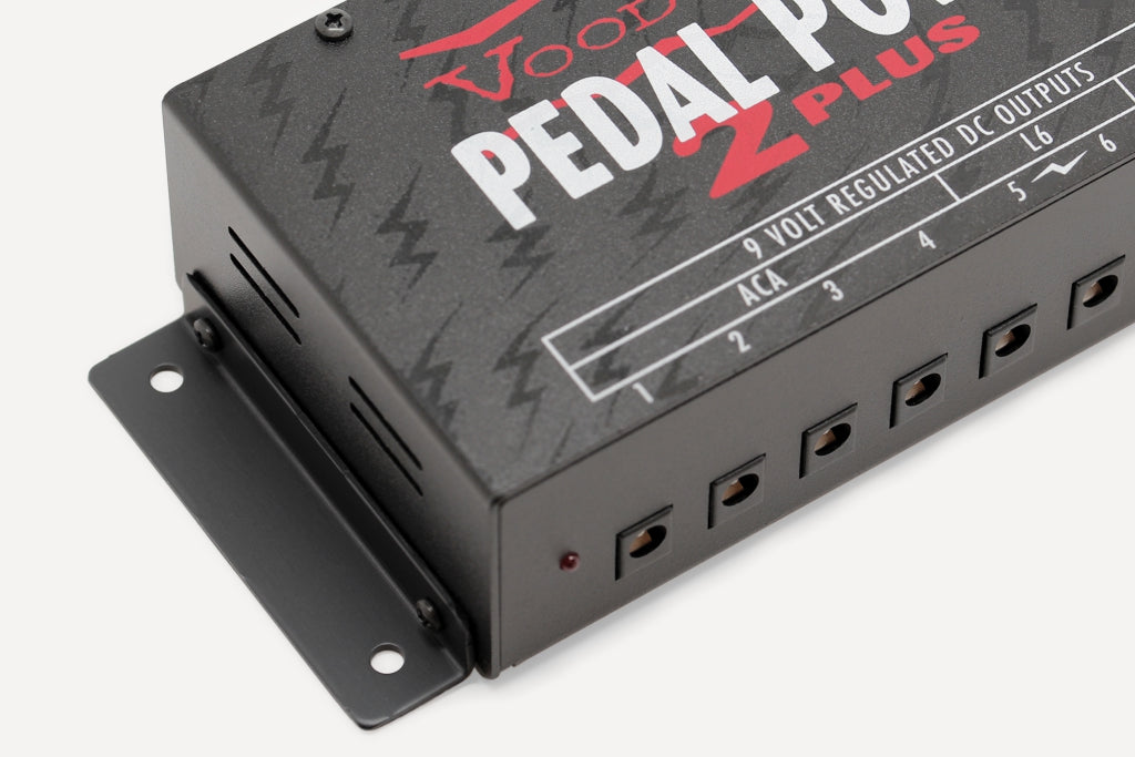 Voodoo Lab Pedal Power 2 Plus with mounting brackets