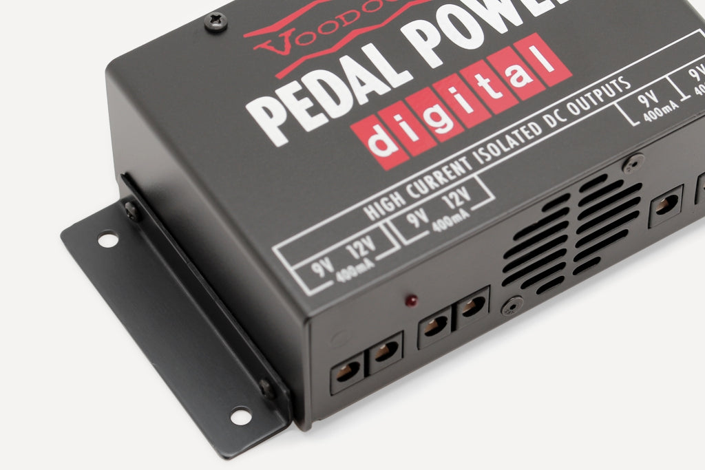 Voodoo Lab Pedal Power Digital with mounting brackets