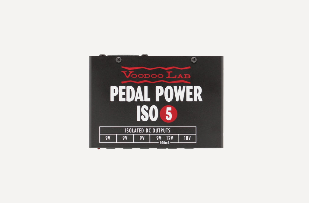 Voodoo Lab Pedal Power ISO-5 with mounting brackets