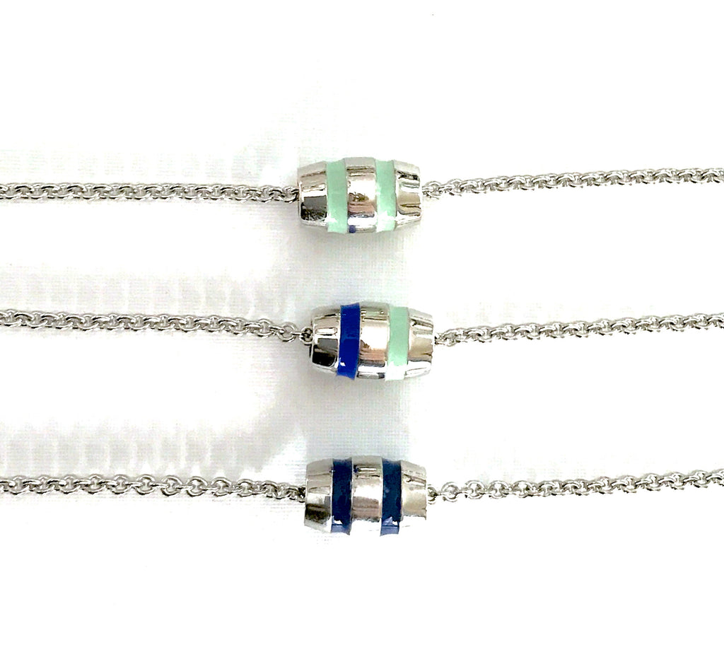 Buoy Bead Necklace