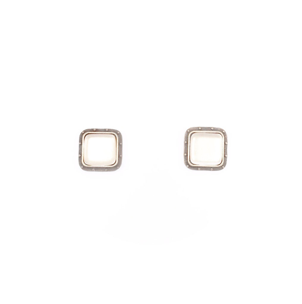 Porthole Stud Earrings