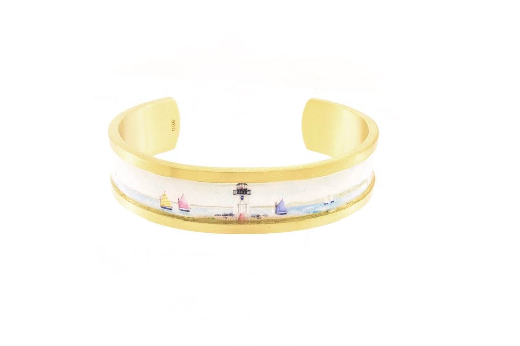 Nantucket Lighthouses Cuff - Mer Hanson x maine melon