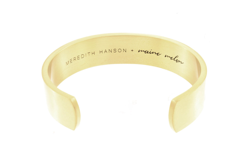 Rainbow Fleet Cuff - Mer Hanson x maine melon