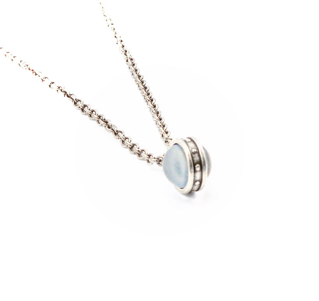 Mini Double Porthole Necklace