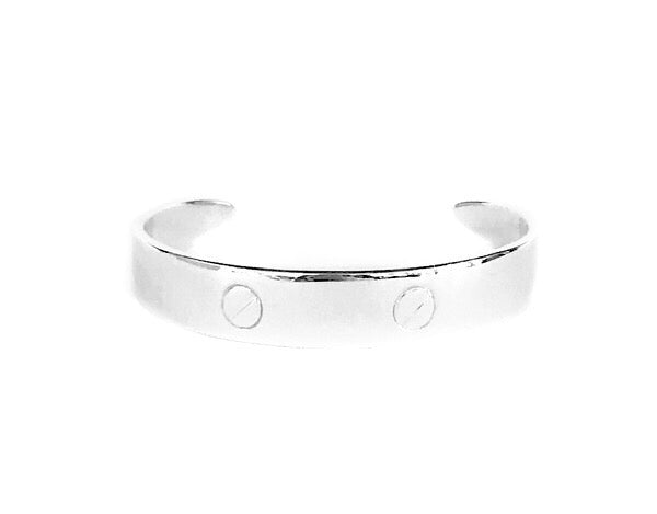 "Sterling Silver Dock Cleat Cuff - The ""New England Bracelet"""