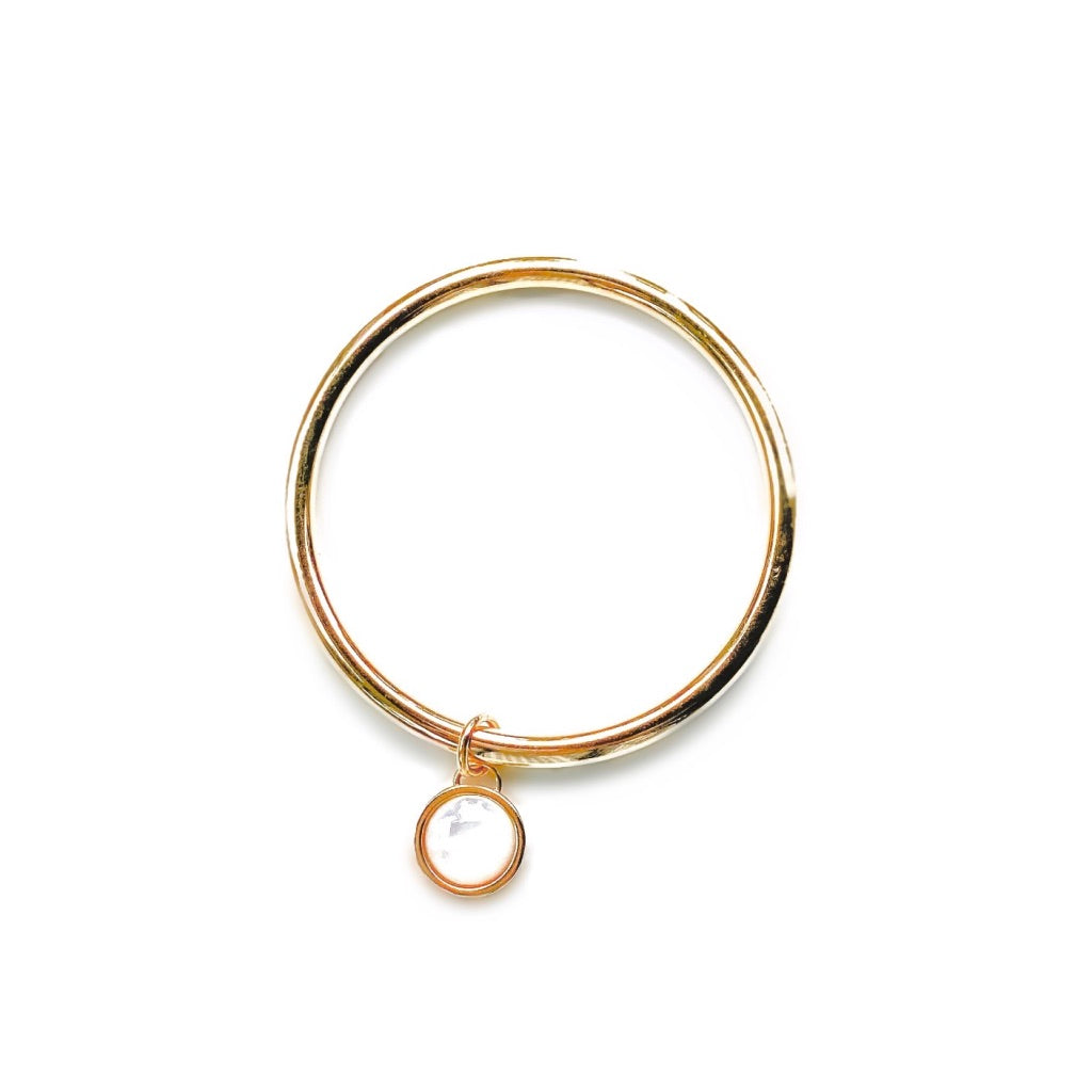 Harbor Charm Bangle Bracelet