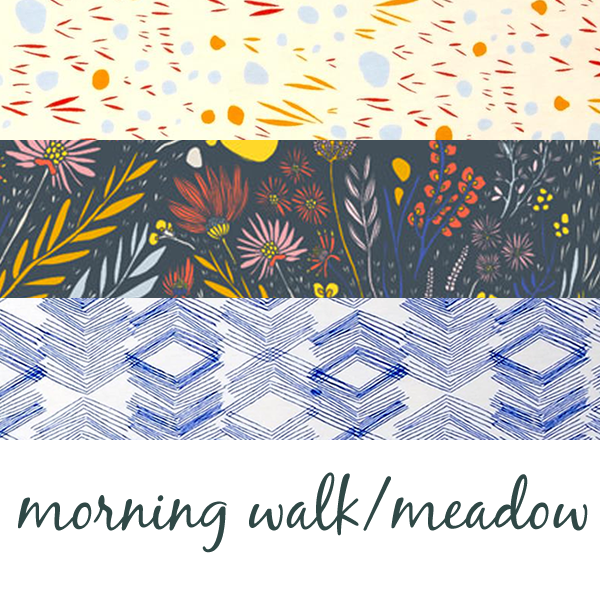 Morning Walk + Meadow by Leah Duncan