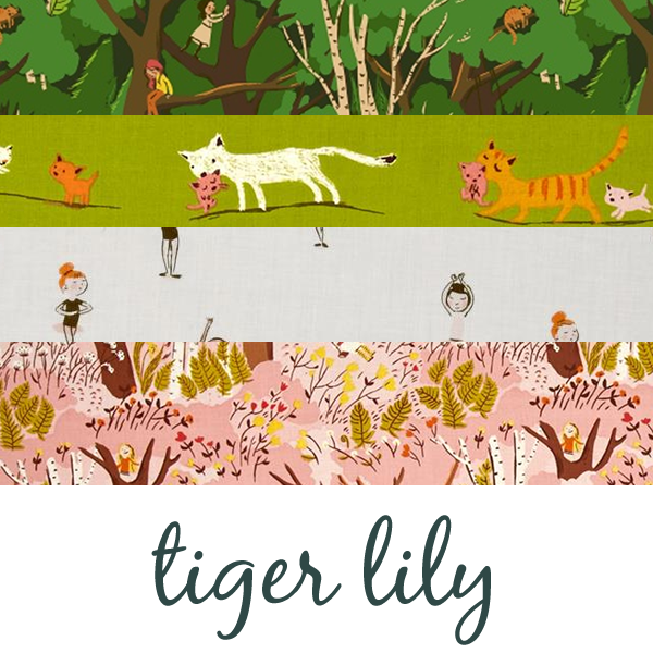 Tiger Lily by Heather Ross