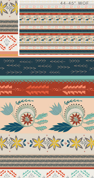 Fleet and Flourish KNIT fabric-Gentle Mantle in Land