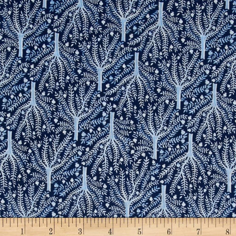 Moody Blues Organic Collection-Sashiko Navy
