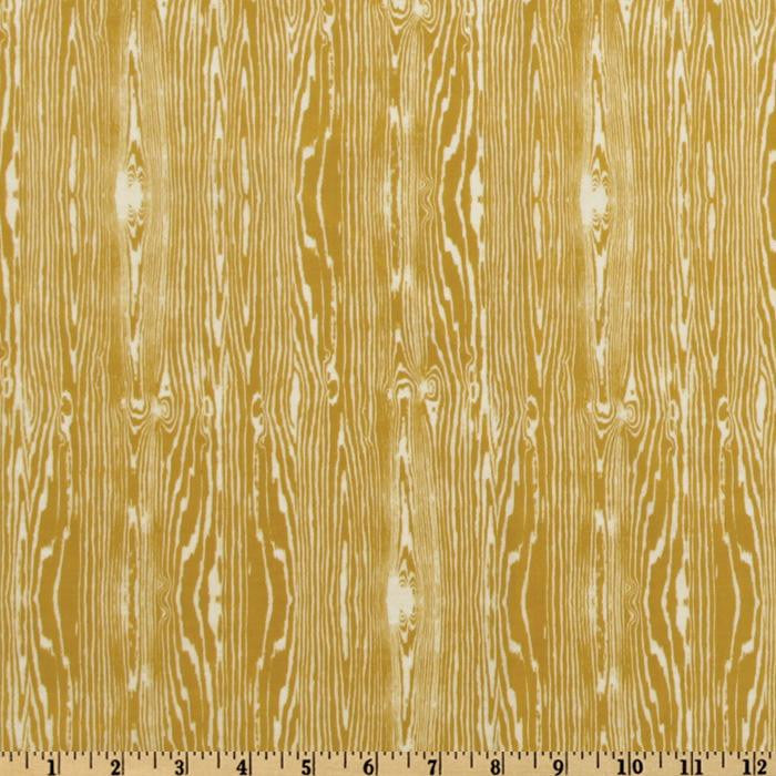 Woodgrain in Vintage Yellow