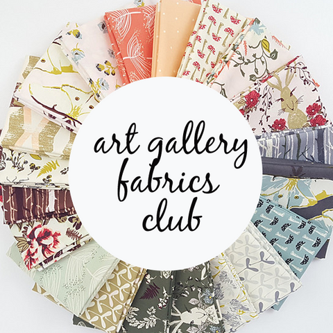 Monthly Art Gallery Fabrics Club