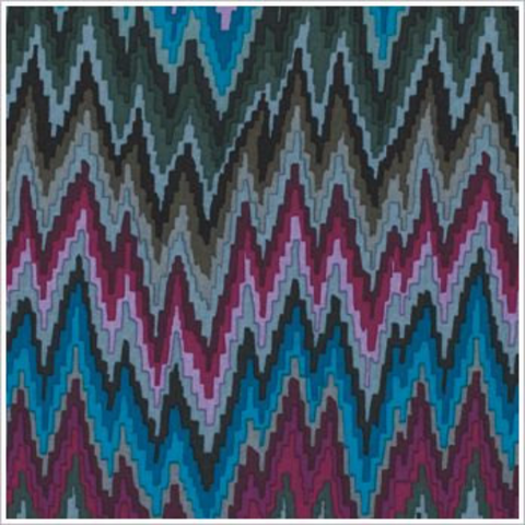 Kaffe Fasset Flame Stripe in Dark